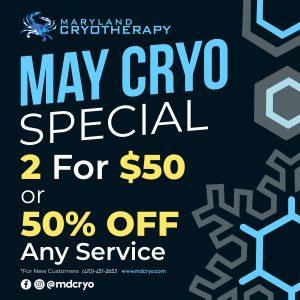 MD Cryo May Specials